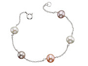 Multi Colour Pearl Bracelet