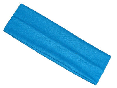 Children's Bright Blue Wide Headband