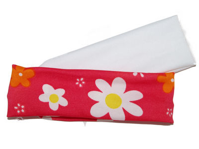 Pink Bright Daisy Headbands