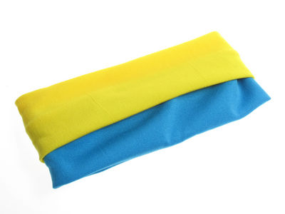 Children's Headbands - Yellow/Blue