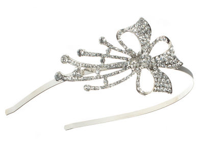 Crystal Bow Hair Band