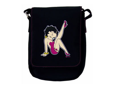 Betty Boop Stepping Out Small Pilot Bag