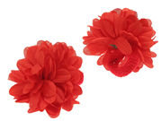 Large Red Ponio Flowers