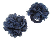 Large Navy Ponios Flowers