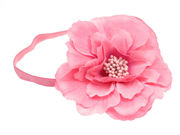 Kelly Candy Pink Flower Headband