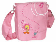 Tweety Pink Pilot Bag