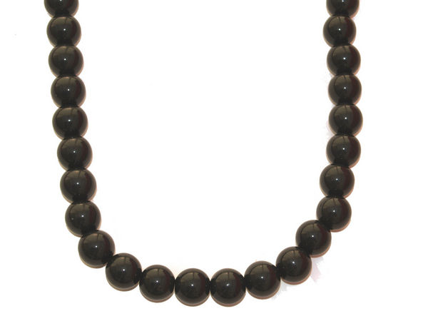 black chunky bead necklace buy 1 get 1 free