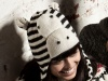 Zebra Trapper Hat