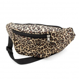 Brown Tone Animal Print Bum Bag