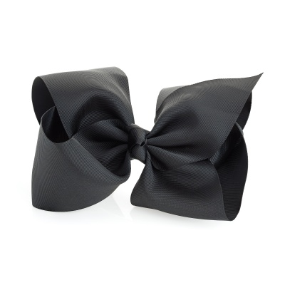 Extra Large Black Bow Hair Clip