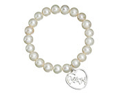Pearl Bracelet With 'Baby' Charm