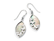 Butterfly Earring with MOP Inlay