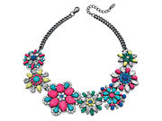 Fiorelli Ladies Statement Flower Necklace