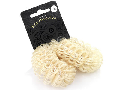 Blonde Hair Effect Ponio Endless Hair Bobbles