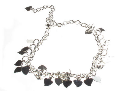Heart Charm Ankle Chain