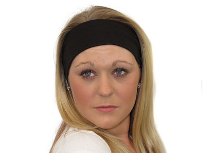 Black Wide Headband