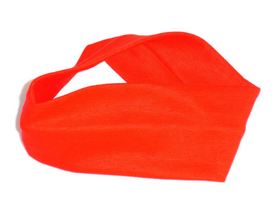 Wide Headband - Red
