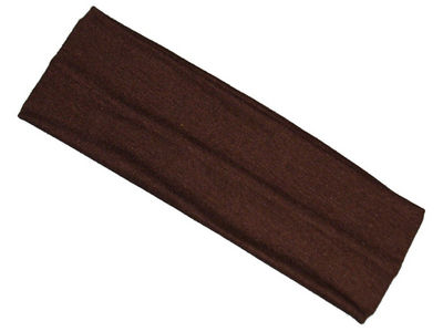 Brown Wide Headband