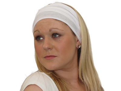 White 8 in 1 Headband