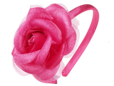 Hot Pink Rose Alice Band