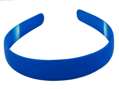 Blue Matte Alice Band