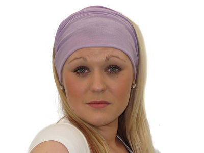 Mauve 8 in 1 Headband
