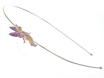 Fairy Enamel Alice Band - Lilac