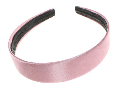 Pink Satin Alice Band