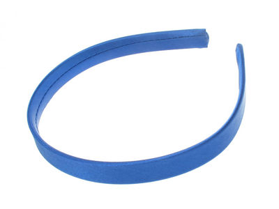 Royal Blue Girls School Satin Alice Hair Band