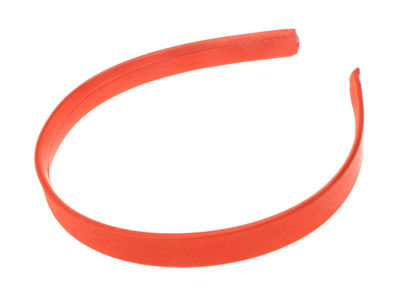 Red Girls School Satin Alice Hair Band
