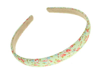 Pale Green Ditsy Floral Headband