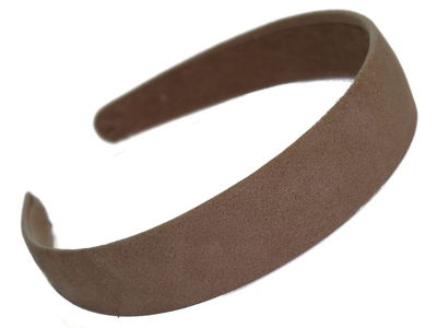 Beige Suede Effect Head Band