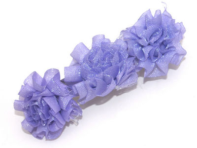 Carnation Barrette - Lilac