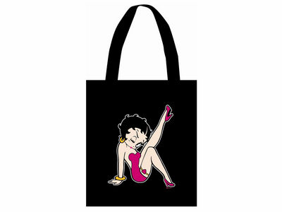 Betty Boop Stepping Out Tote Bag