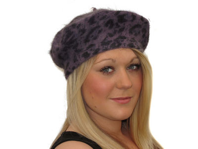 Cambridge Beret - Purple