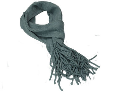 Winter Super Soft Gypsy Scarf - Grey