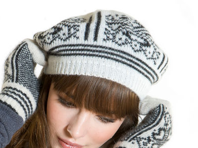 Holly Beret - Grey