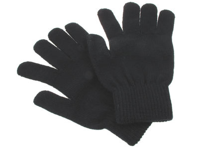Soft Stretchy Black Smooth Magic Gloves