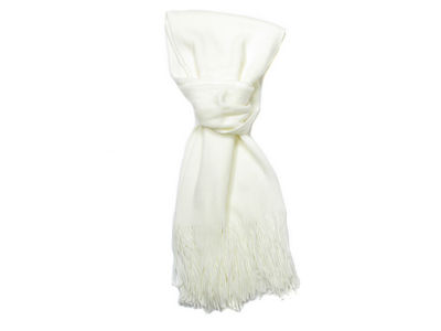 Winter Super Soft Rhona Scarf - Cream