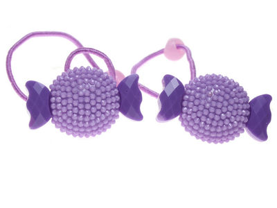 Lilac Sweetie Hair Bobbles
