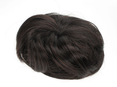 Dark Brown Artificial Hair Bun