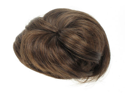 Brown Artificial Hair Bun