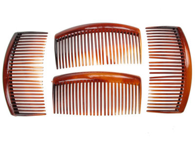 4 Pack Tort Side Hair Combs