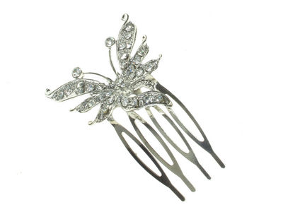 Vintage Butterfly Hair Comb