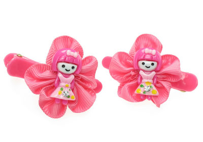 Pink Girl Hair Clip