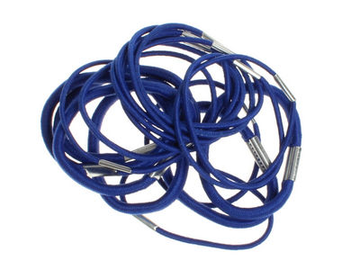 Pack of Royal Blue Hair Elastics