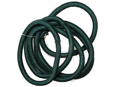 6 Bottle Green Snag-Free Elastics