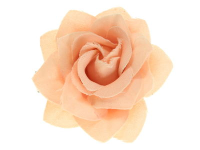 Peach Small Rose Beak Hair Clip