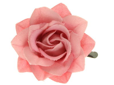 Dusky Pink Small Rose Beak Hair Clip