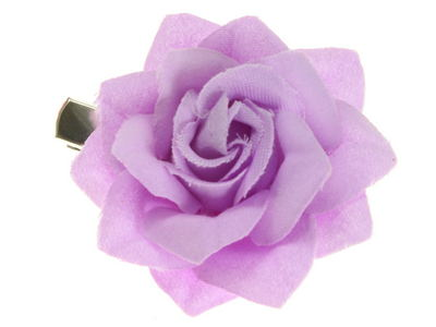 Lilac Small Rose Beak Hair Clip